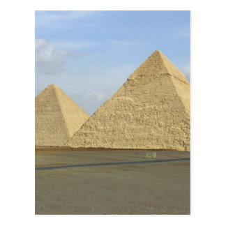 Giza Pyramids Photo Post Card