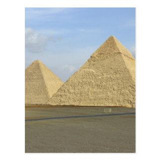 Giza Pyramids Photo Postcard