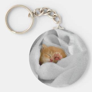 Gizmo Basic Round Button Key Ring