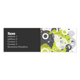 Gizmo Profile Card Business Card Template