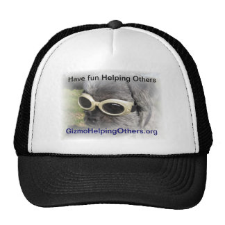 Gizmo the Dog that Helps others Trucker Hats