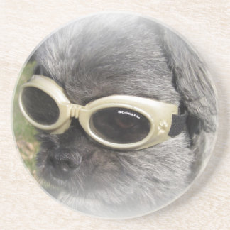 Gizmo the Dog that Helps others Coasters