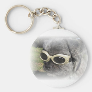 Gizmo the Dog that Helps others Keychain