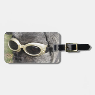 Gizmo the Dog that Helps others Travel Bag Tag