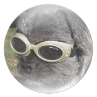 Gizmo the Dog that Helps others Party Plates