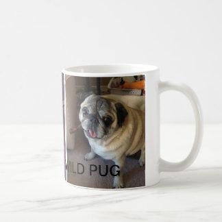 Gizmo the wild pug mug! basic white mug