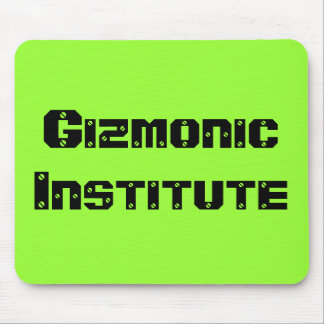 Gizmonic Institute Mouse Pad
