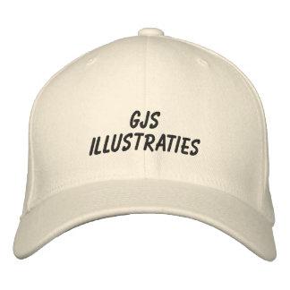 GJS illustrations Cap Embroidered Hat
