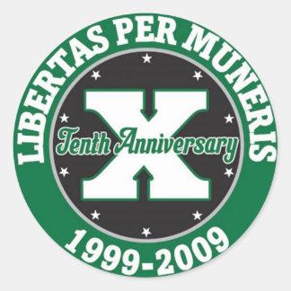 GKMMC Ten Year Anniversary sticker