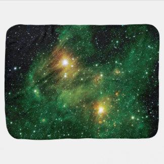 GL490 Green Gas Cloud Nebula Pramblanket