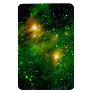 GL490 Green Gas Cloud Nebula Rectangular Photo Magnet