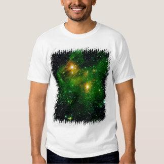 GL490 Green Gas Cloud Nebula Shirt