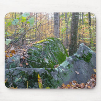 Glacial Boulders Montgomery County Pennsylania Mousepad