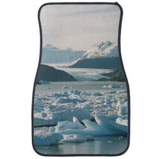 Glacial Icebergs Car Mat