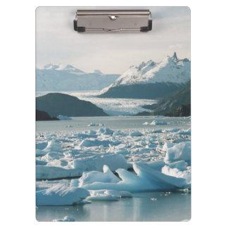 Glacial Icebergs Clipboard