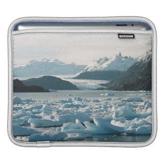 Glacial Icebergs iPad Sleeve