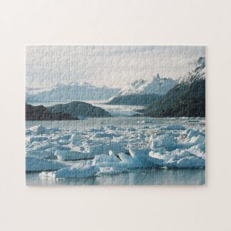 Glacial Icebergs Jigsaw Puzzle