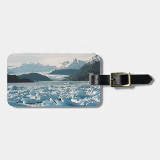 Glacial Icebergs Luggage Tag