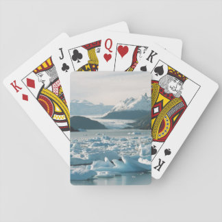 Glacial Icebergs Playing Cards