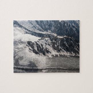 Glacier, Alaska Range Mountains, Alaska, USA Jigsaw Puzzle