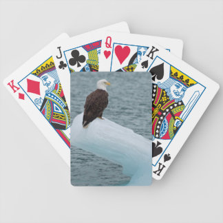 Glacier Bay National Park Bald Eagle Bicycle Playing Cards