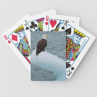 Glacier Bay National Park Bald Eagle Bicycle Poker Cards