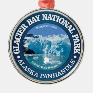 Glacier Bay National Park (color) Christmas Ornament
