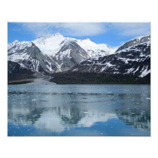 Glacier Bay with reflection Photograph