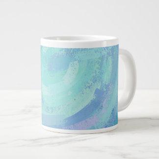 Glacier Blue Textured Extra Large Mug