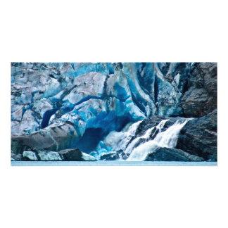 Glacier Falls Photo Card Template