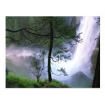 Glacier Falls Postcard