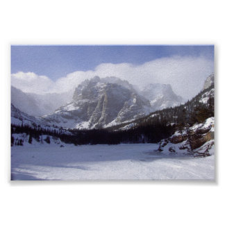 Glacier Gorge Poster