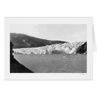 Glacier Juneau Alaska 1905 Greeting Cards