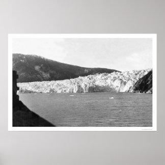 Glacier Juneau Alaska 1905 Posters