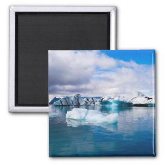 Glacier Lagoon Fridge Magnet