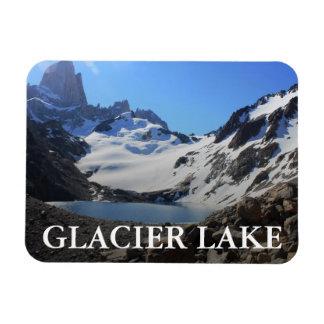 Glacier Lake Near Mount Fitz Roy Rectangular Photo Magnet