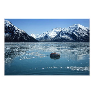 Glacier lifeboat photo print