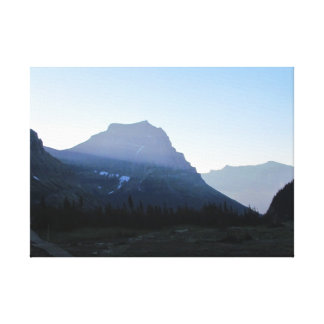 """Glacier National Park  20"""" x 16"""", 1.5"""" Canvas"""