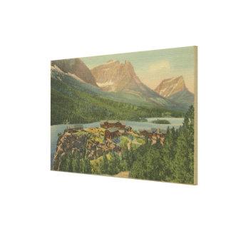 Glacier National Park, Canvas Print