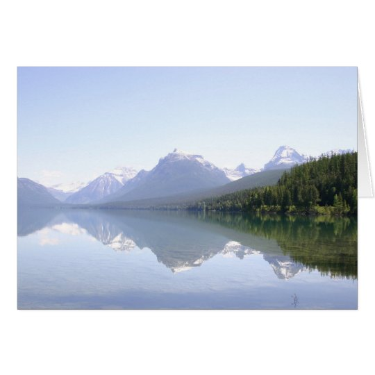 Glacier National Park Card