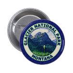 Glacier National Park Pinback Buttons