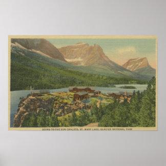 Glacier National Park, Poster