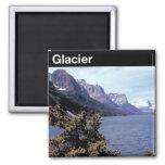 Glacier National Park Refrigerator Magnet