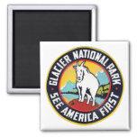 Glacier National Park See America First Fridge Magnets