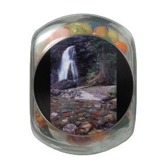Glacier National Park Jelly Belly Candy Jar
