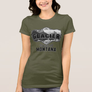 Glacier Pano For Dark T-Shirt