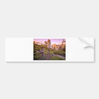 Glacier Point Sunset (Horizontal) Bumper Sticker