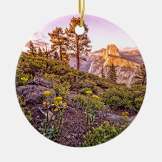 Glacier Point Sunset (Horizontal) Christmas Ornament