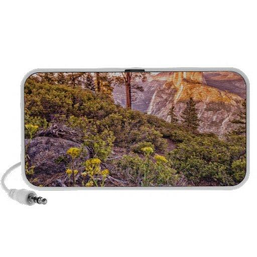 Glacier Point Sunset (Horizontal) Notebook Speakers
