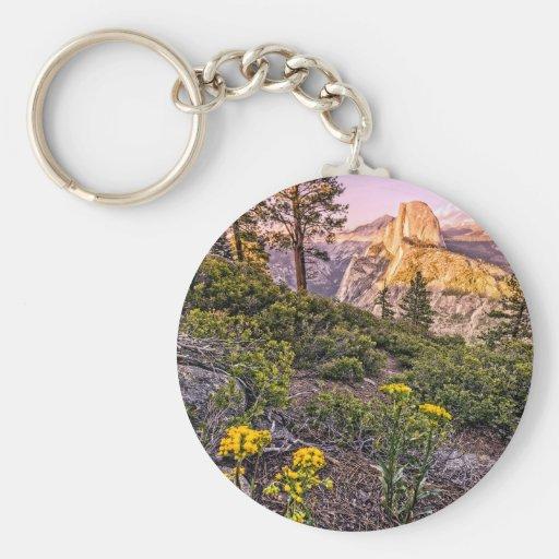 Glacier Point Sunset (Vertical) Keychain